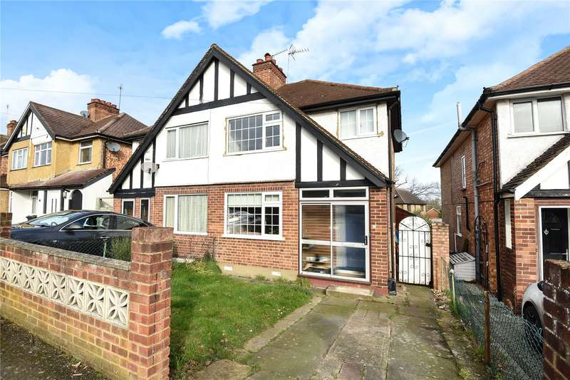 3 Bedrooms Semi Detached House for sale in Misbourne Road, Uxbridge, Middlesex, UB10