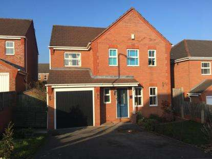 4 Bedrooms Detached House for sale in Arran Drive, Wilnecote, Tamworth, Staffordshire