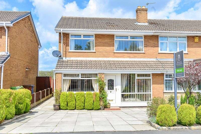 3 Bedrooms Semi Detached House for sale in Broadacre, Standish, WN6 0SN