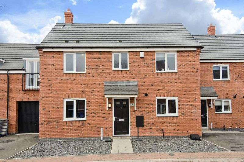 3 Bedrooms Semi Detached House for sale in Crabtree Avenue, Hawksyard, Rugeley
