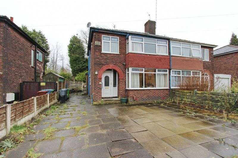 3 Bedrooms Semi Detached House for sale in Sinclair Avenue, Crumpsall, Manchester