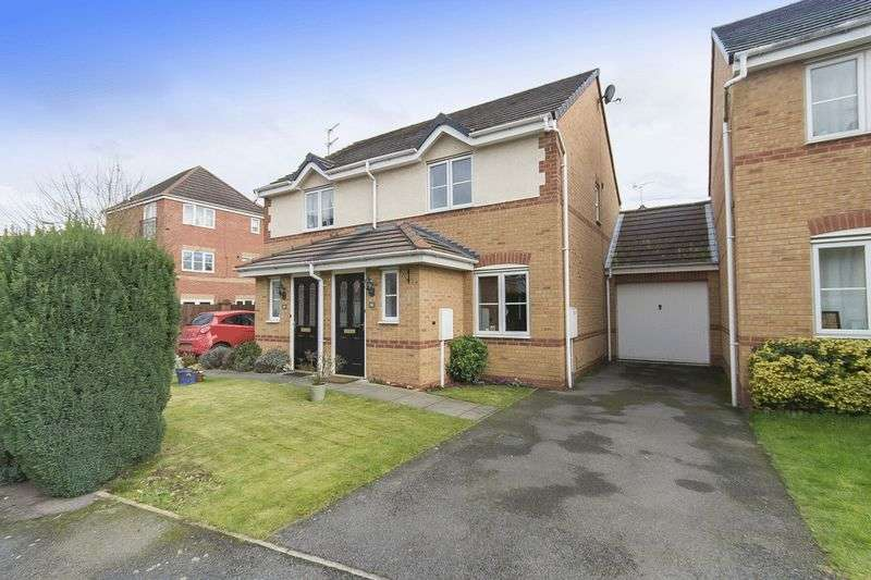 2 Bedrooms Semi Detached House for sale in KYLE ROAD, HILTON