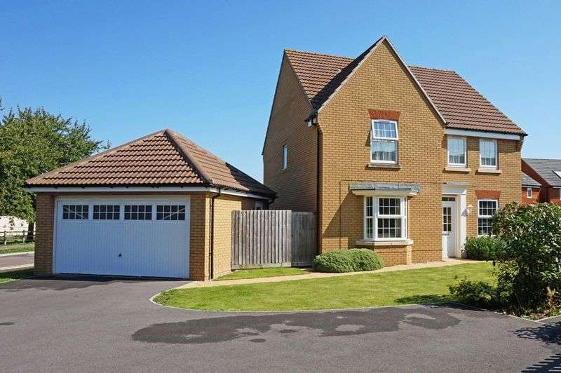 4 Bedrooms Detached House for sale in Hyde Lane, Taunton