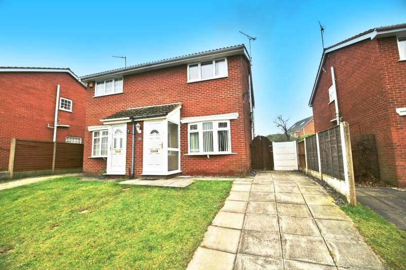 2 Bedrooms Semi Detached House for sale in Blaydon Park, Skelmersdale, WN8