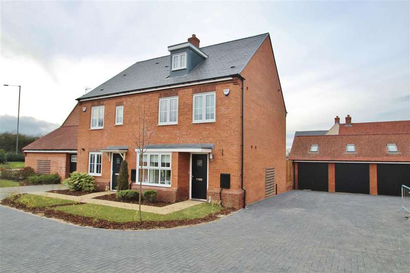 4 Bedrooms Town House for sale in Cotton End, Buckingham