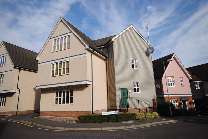 2 Bedrooms Apartment Flat for sale in Weavers Close, Great Dunmow