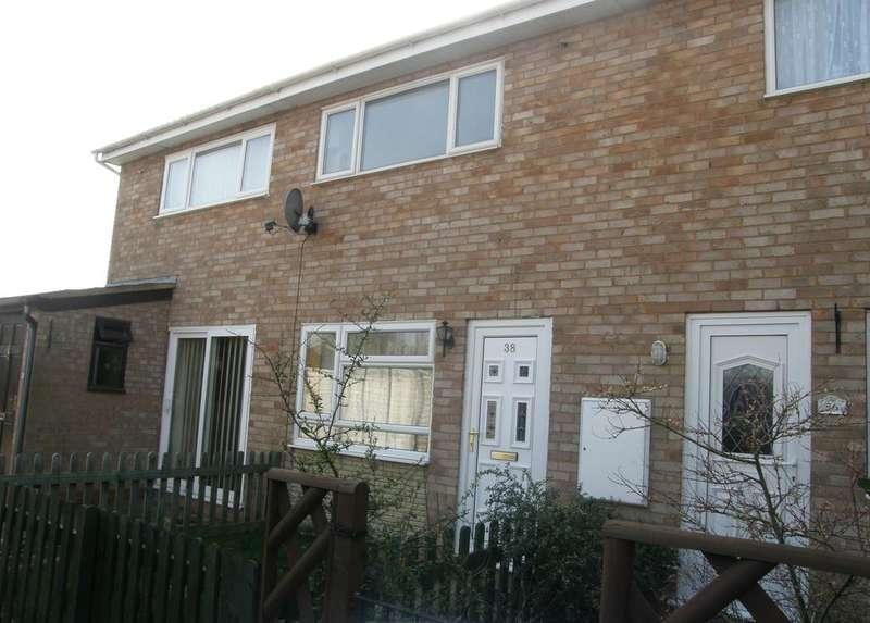 2 Bedrooms Terraced House for sale in 38 Flaggoners Close, BROMYARD, HR7 4TZ
