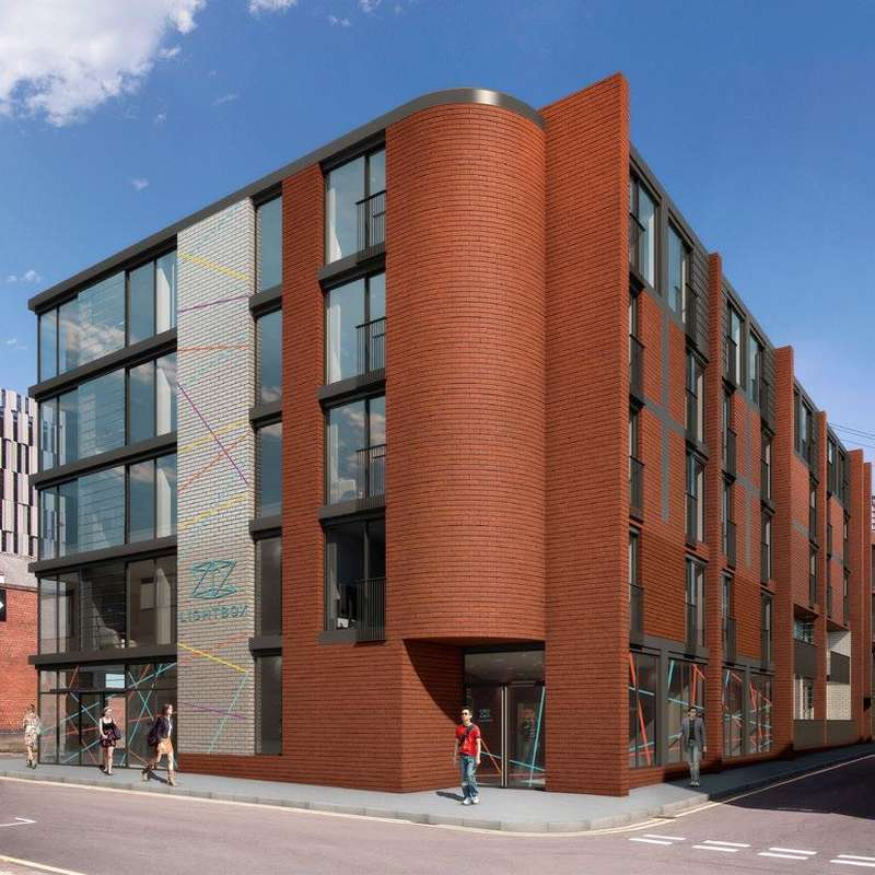 1 Bedroom Apartment Flat for sale in Off Plan, LightBox, Hallam Lane, Sheffield S1