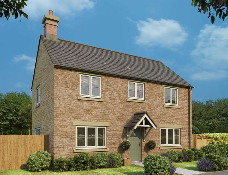 3 Bedrooms Detached House for sale in Wood Burcote, Northamptonshire
