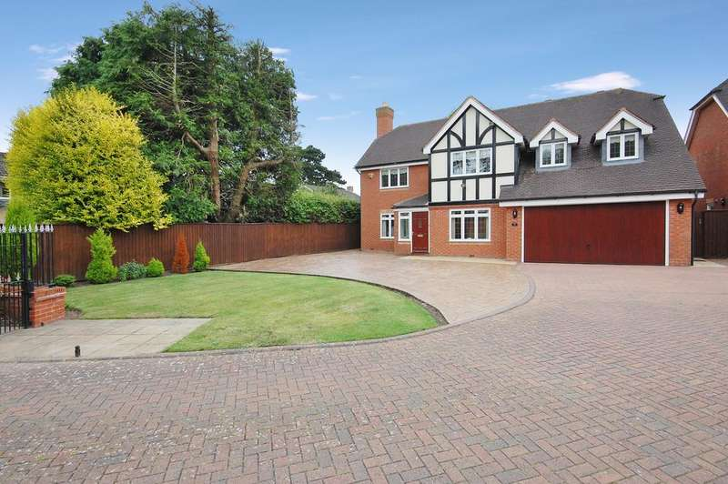 5 Bedrooms Detached House for sale in Saxonfields, Tettenhall, Wolverhampton WV6