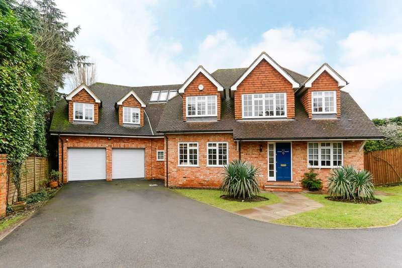 5 Bedrooms Detached House for sale in Hill Rise, Chalfont St Peter, SL9