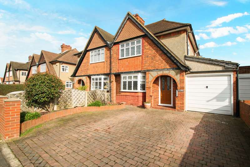 3 Bedrooms Semi Detached House for sale in Ashford Crescent, Ashford, TW15