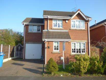 4 Bedrooms Detached House for sale in Silverdale Close, Tarbock, Merseyside, L36