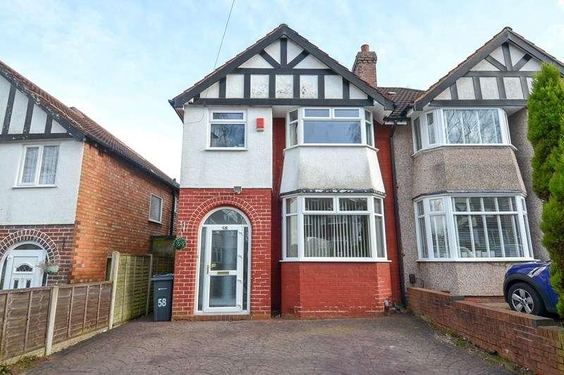 3 Bedrooms Semi Detached House for sale in Josiah Road, Northfield, Birmingham