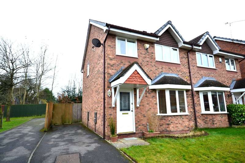 3 Bedrooms Semi Detached House for sale in Thistleton Close, Macclesfield