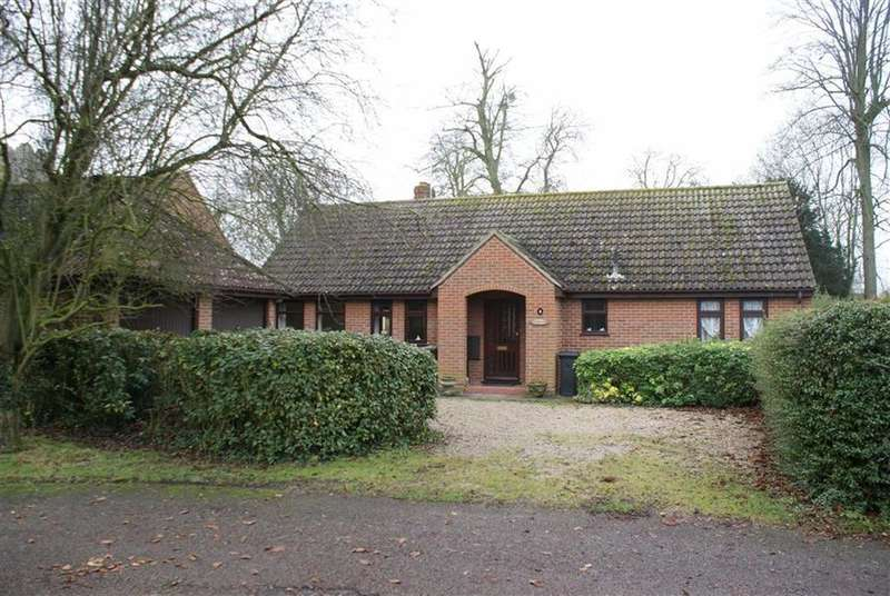 3 Bedrooms Detached Bungalow for sale in Old Rectory Gardens, Occold