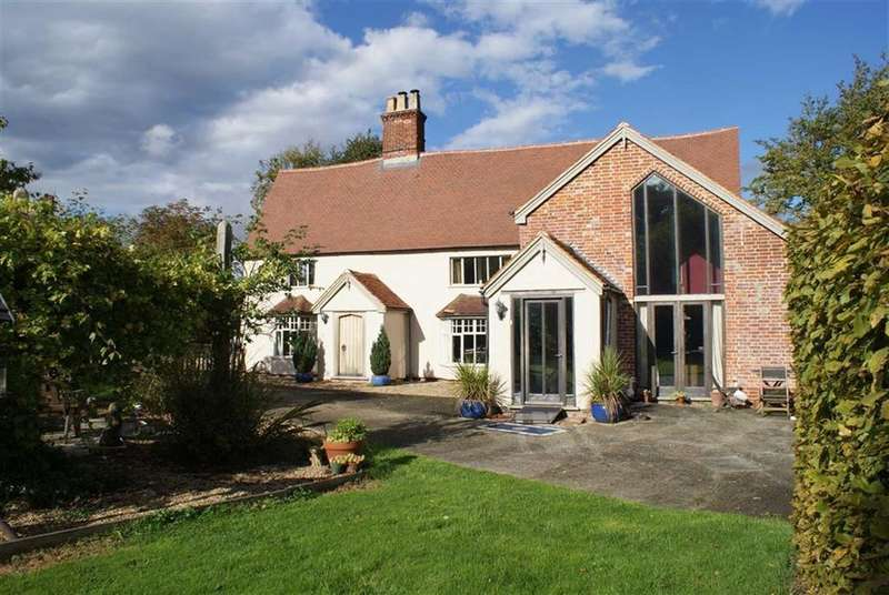 3 Bedrooms Detached House for sale in Shop Street, Worlingworth, Suffolk