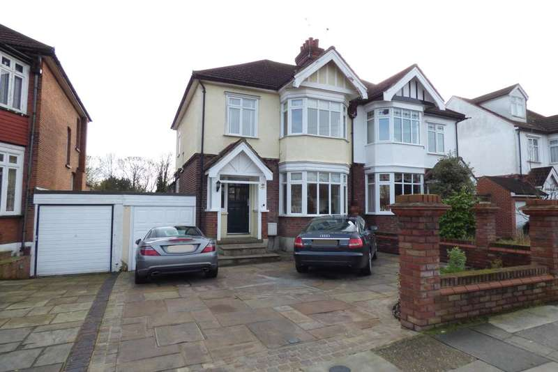 3 Bedrooms Semi Detached House for sale in Deyncourt Gardens, Upminster RM14