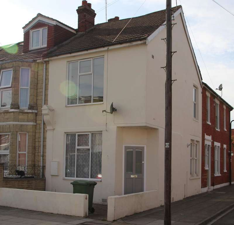 2 Bedrooms End Of Terrace House for sale in Glenthorne Road, Copnor, Portsmouth PO3