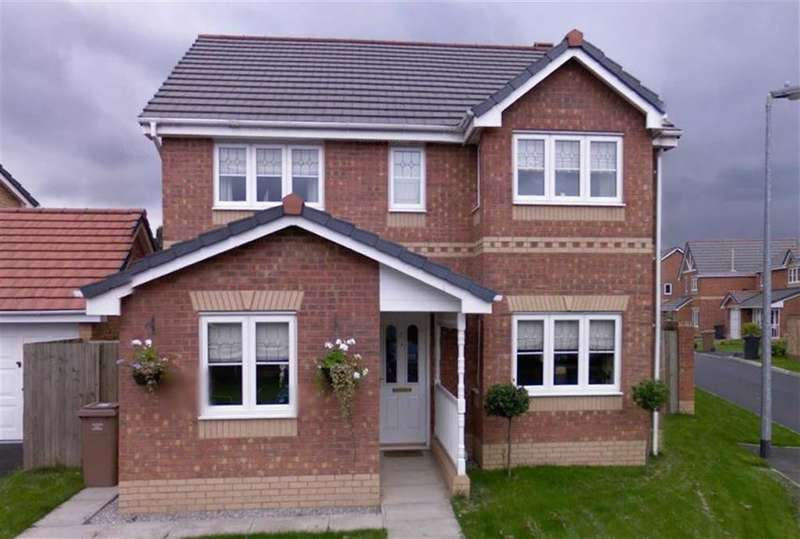 4 Bedrooms Detached House for sale in 27, Stickens Lock Lane, Irlam, Manchester