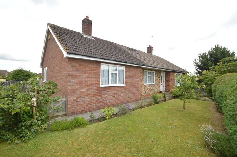 4 Bedrooms Detached Bungalow for sale in South Lea, Rillington, Malton YO17