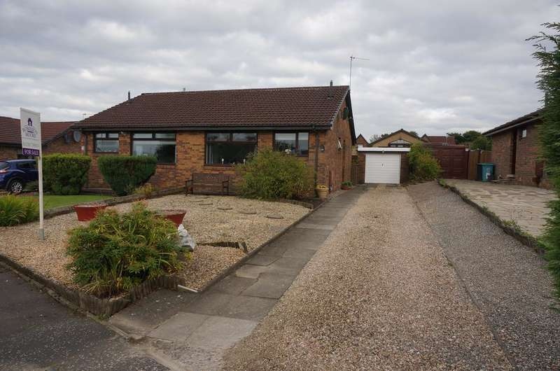 2 Bedrooms Semi Detached Bungalow for sale in Whitemore Avenue, Balloch, Cumbernauld G68