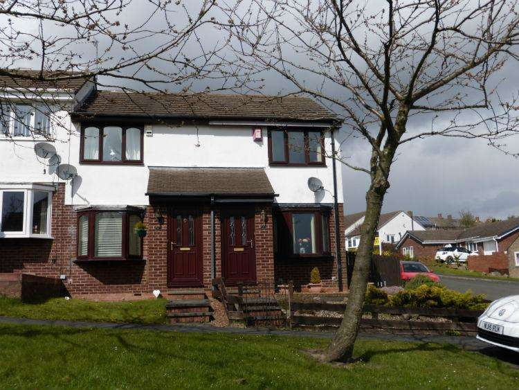 2 Bedrooms House for sale in Kinross Drive, East Stanley, Stanley, Co Durham DH9