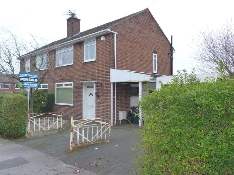 3 Bedrooms Semi Detached House for sale in Wessex Drive Rudheath Northwich