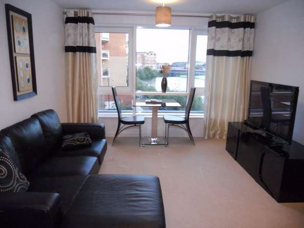 Flat for rent in Hansen Court, Cardiff Bay, Cardiff