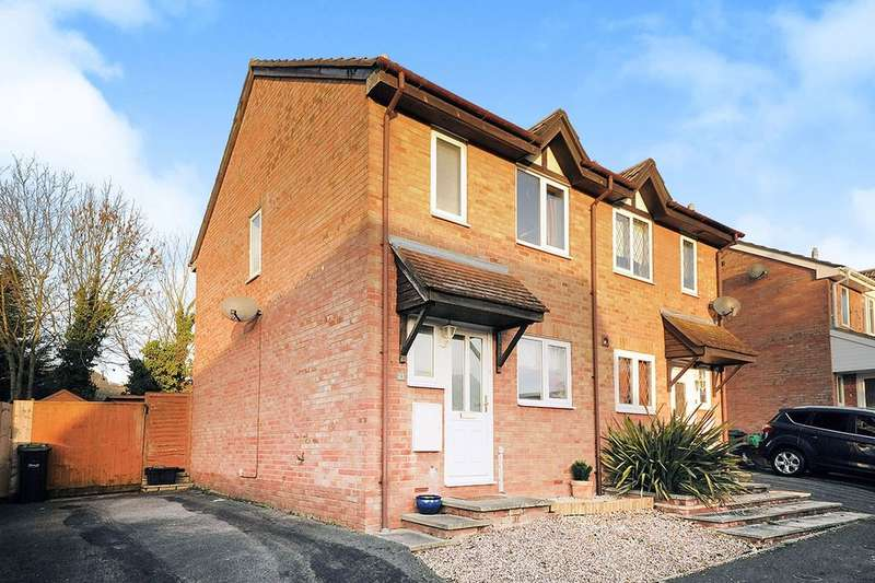 2 Bedrooms Semi Detached House for sale in Hayward Close, Chippenham, SN15