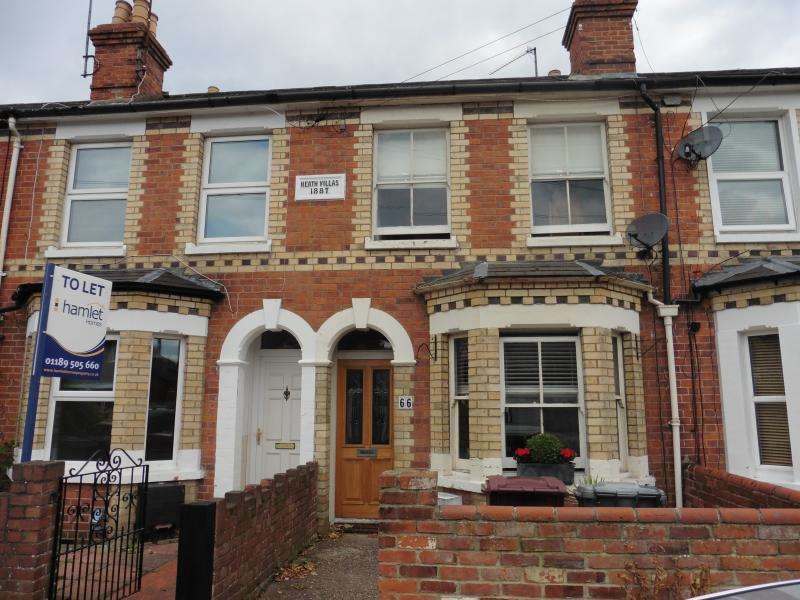 2 Bedrooms Terraced House for sale in Edinburgh Road, Reading, RG30