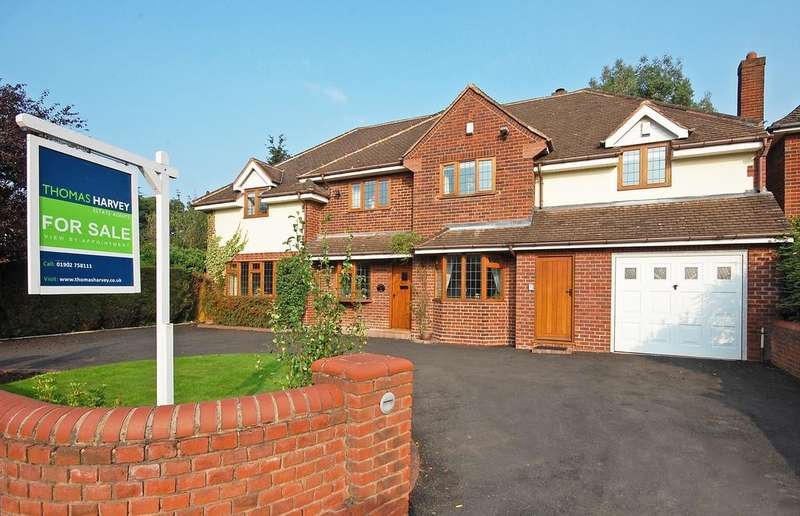 5 Bedrooms Detached House for sale in Springhill Park, Lower Penn, Wolverhampton WV4