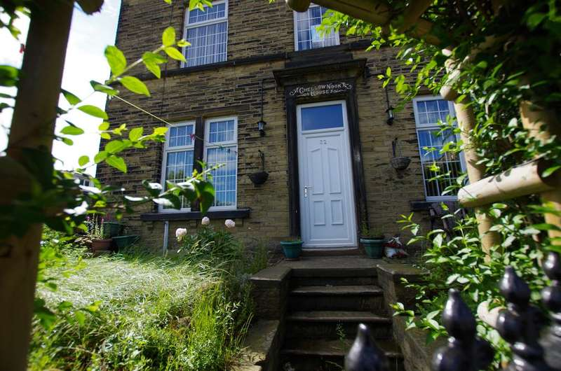 4 Bedrooms End Of Terrace House for sale in CHELLOW NOOK HOUSE, PEARSON LANE,, WEST YORKSHIRE,, BRADFORD BD9