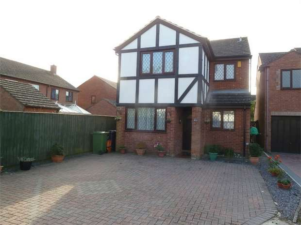 4 Bedrooms Detached House for sale in Askew Close, Grange Park, Swindon, Wiltshire