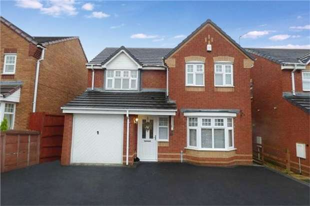4 Bedrooms Detached House for sale in Haselbury Corner, Heritage Park, Nuneaton, Warwickshire