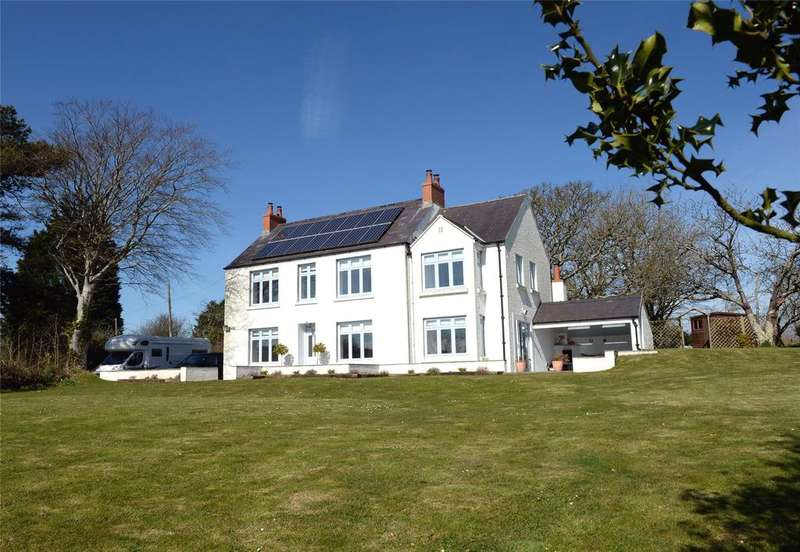 4 Bedrooms Detached House for sale in The Leys, Amroth, Narberth, Pembrokeshire