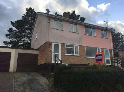 2 Bedrooms Semi Detached House for sale in Bodmin, .
