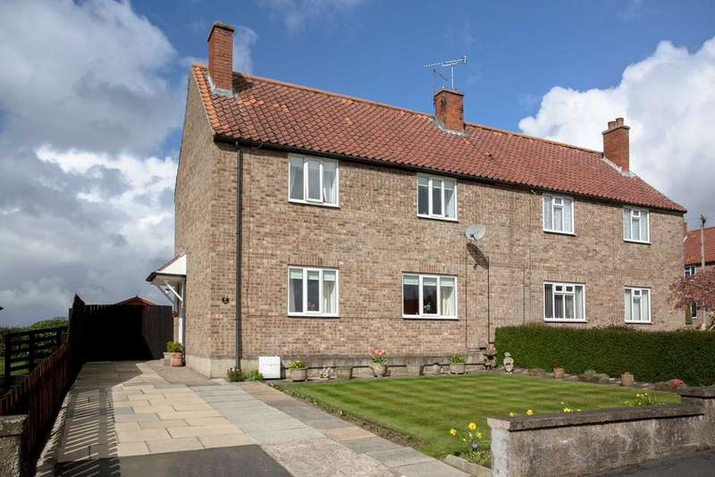 3 Bedrooms Semi Detached House for sale in The Croft, Beadlam, York YO62