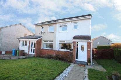 2 Bedrooms Semi Detached House for sale in Maybole Crescent, Newton Mearns, East Renfrewshire