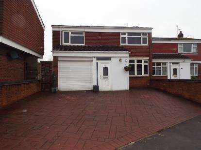 3 Bedrooms Semi Detached House for sale in Royal Meadow Drive, Atherstone, Warwickshire