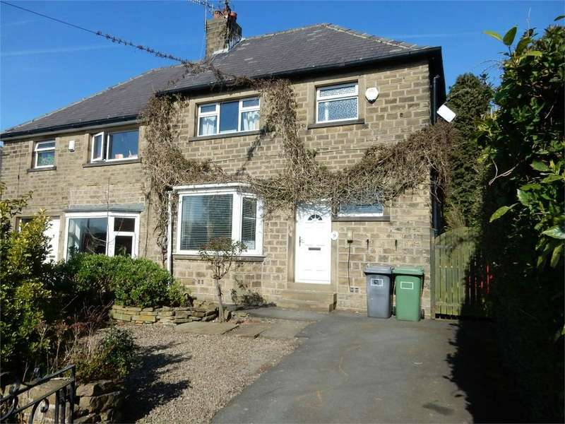 3 Bedrooms Semi Detached House for sale in Longley Lane, Longley, Close To Castle Hill, Huddersfield