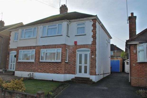 3 Bedrooms Semi Detached House for sale in Windsor Crescent, Duston, Northampton NN5 5AP
