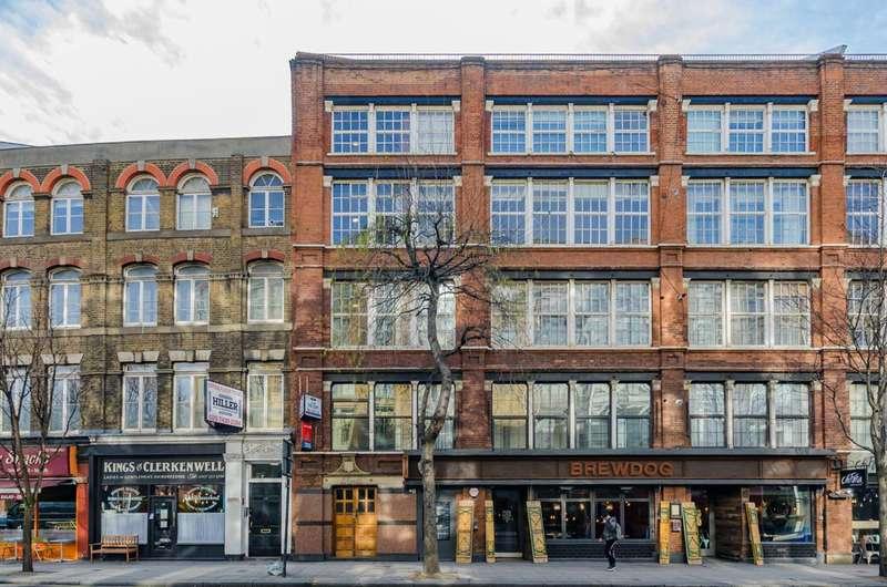 1 Bedroom Flat for sale in Clerkenwell Road, Farringdon, EC1M