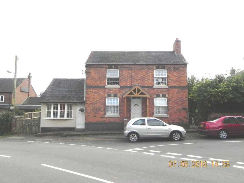 4 Bedrooms Detached House for sale in Main Road, Edingale, B79 9HY