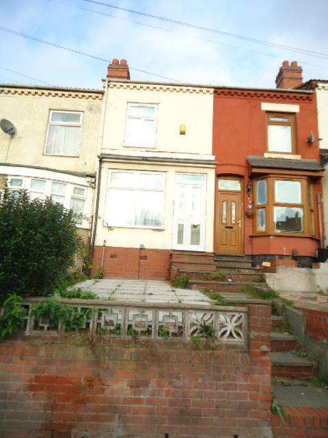 3 Bedrooms Terraced House for sale in Phillimore Road, Alum Rock, Birmingham B8