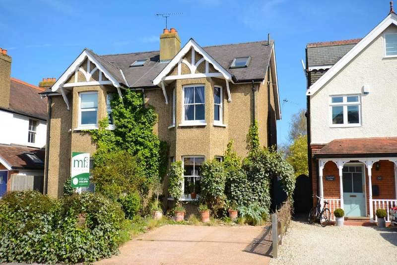 4 Bedrooms Semi Detached House for sale in Hersham Road, WALTON ON THAMES KT12