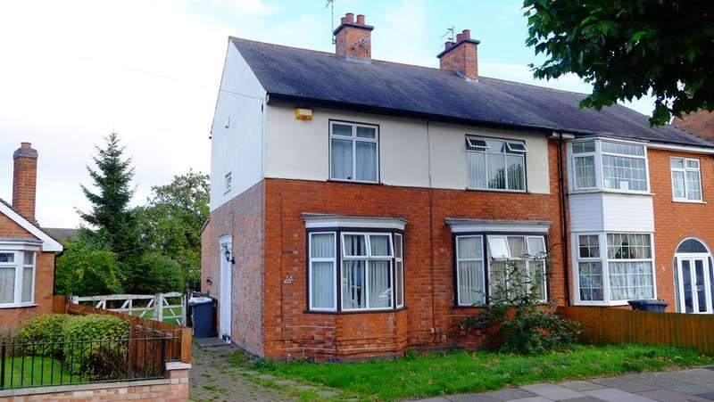 3 Bedrooms Semi Detached House for sale in Leicester LE3