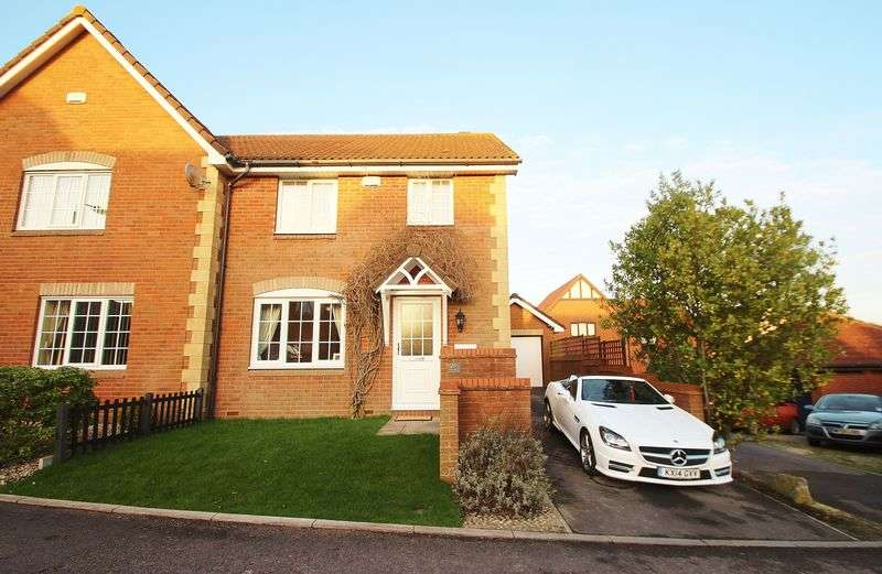 3 Bedrooms Semi Detached House for sale in Brock End, Portishead