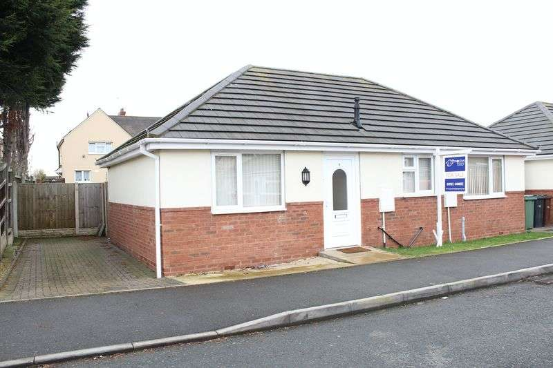 2 Bedrooms Detached Bungalow for sale in Burford Close, Willenhall