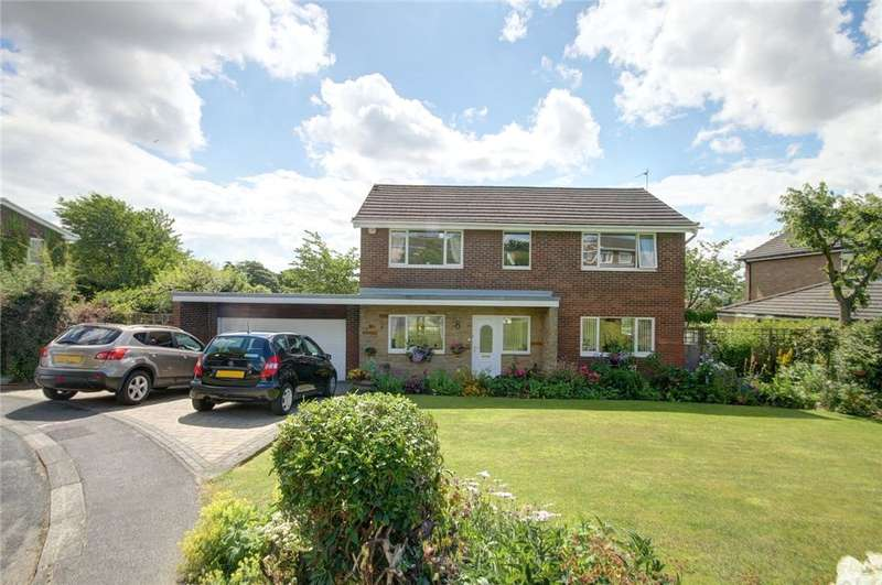 4 Bedrooms Detached House for sale in Rushey Gill, Brandon, Durham, DH7